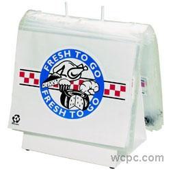 Pack of 250 16 x 14 x 36 Elkay Plastics 20G-161436 2 mil Low Density Gusset Bag Clear