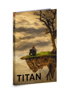 Titan Coated Paper Swatch Book