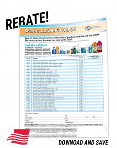 Clorox Professional Spring Cleaning Rebate Form
