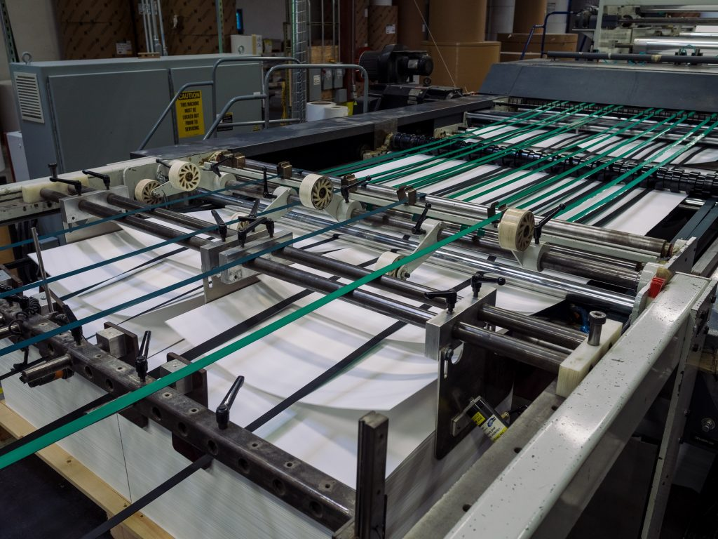 Perfect Fit Custom Sheeting Operation by WCP Converting