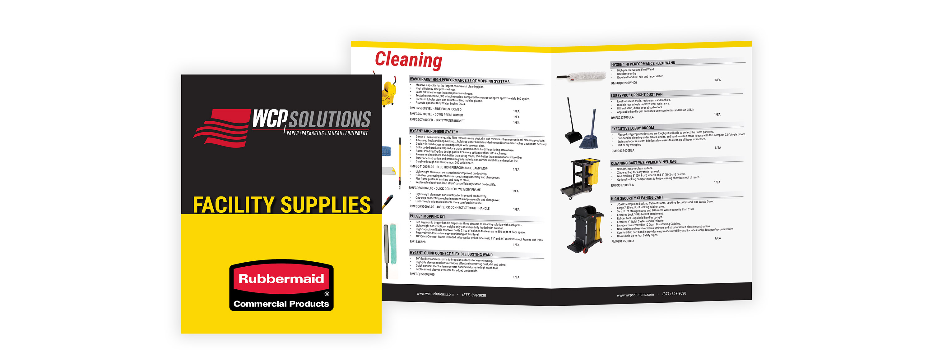 WCP Solutions Rubbermaid Building and Facility Supplies Catalog