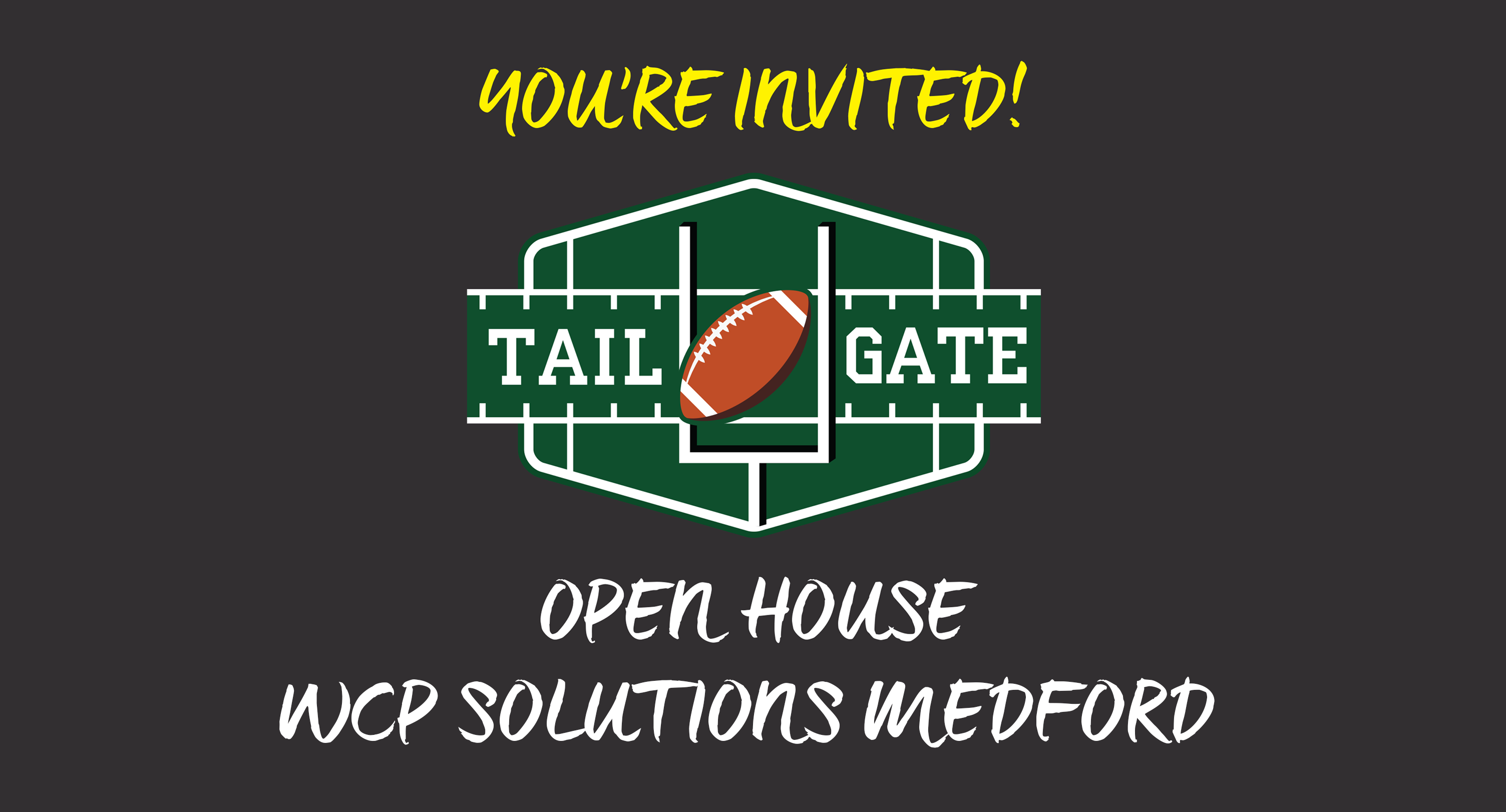 WCP Medford Open House Invitation