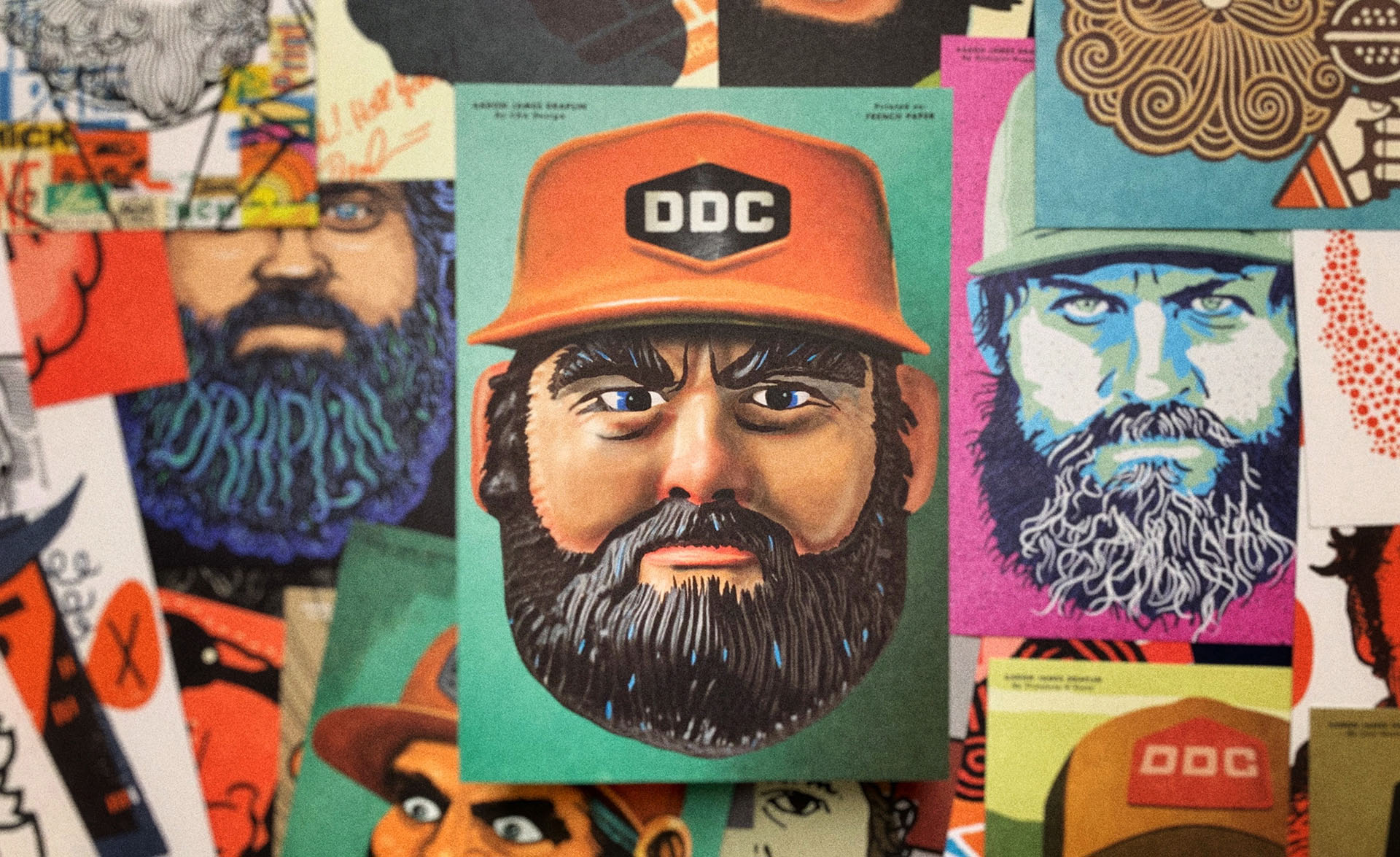 Draplin Postcard Promotion by French Paper