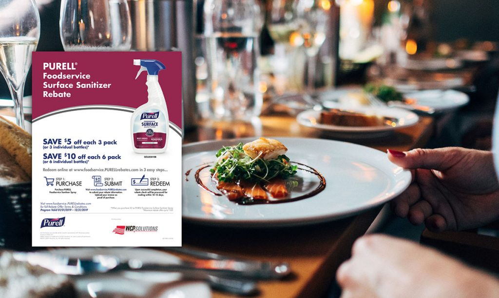 WCP Solutions Save up to $100 on Purell Food Service
