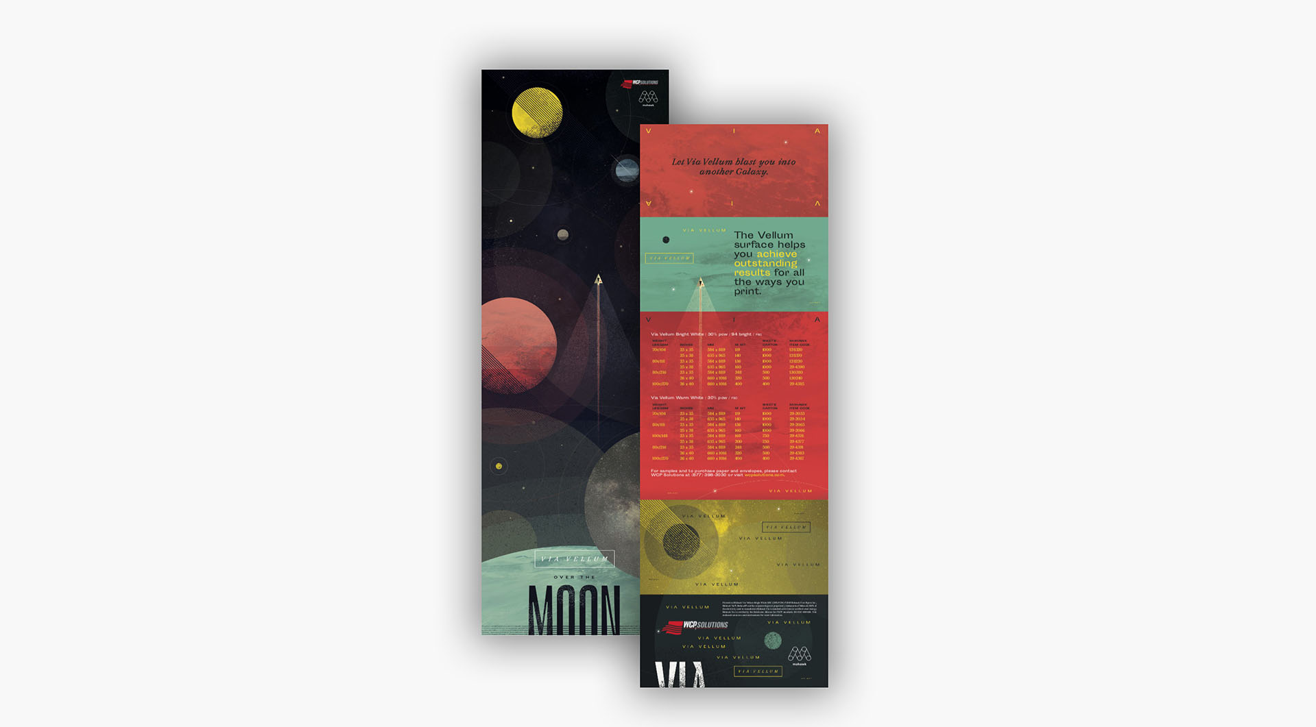 Over the moon - Limited Edition Poster by Mohawk and WCP Solutions