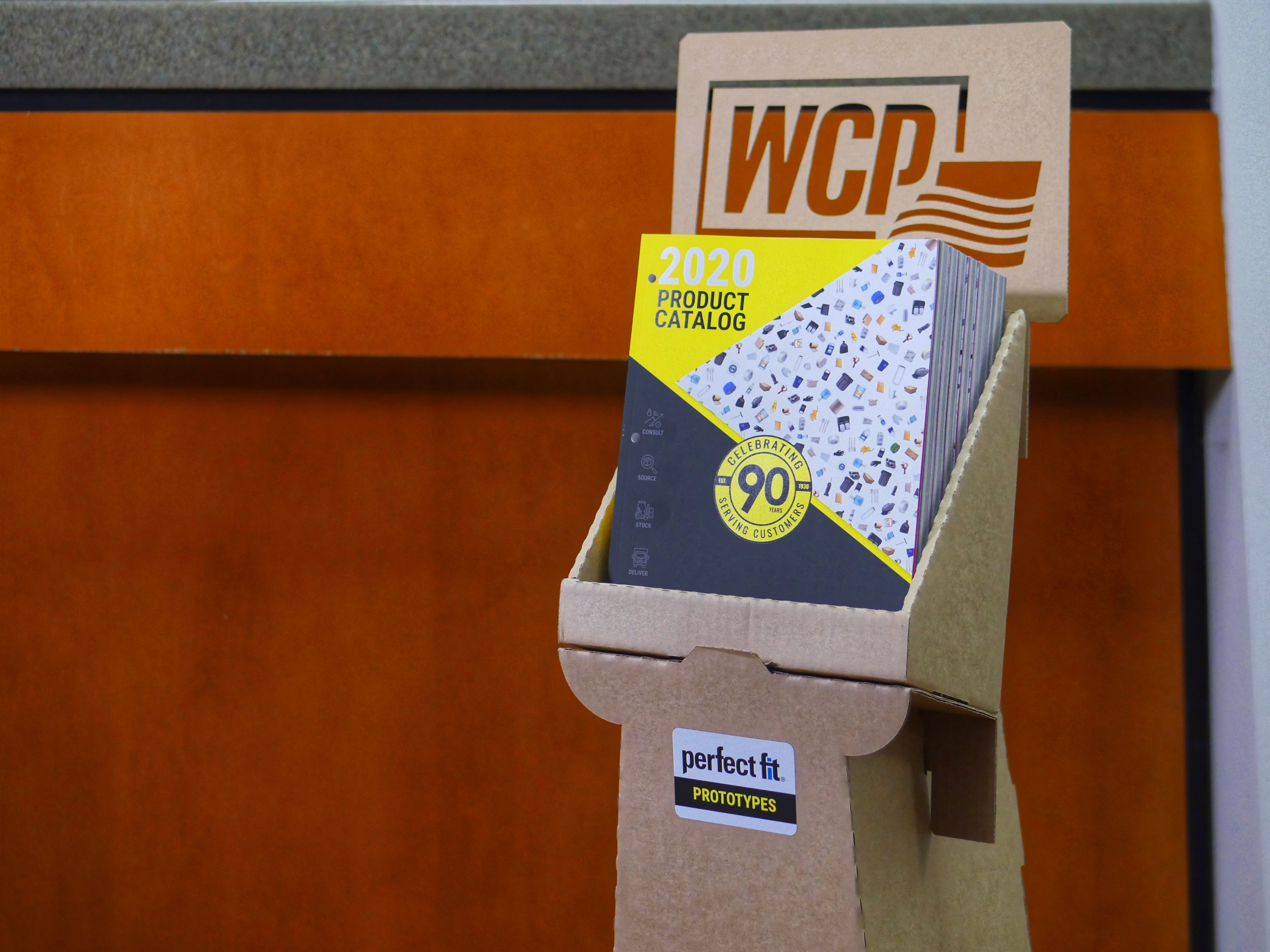 Stack of WCP Product Catalogs