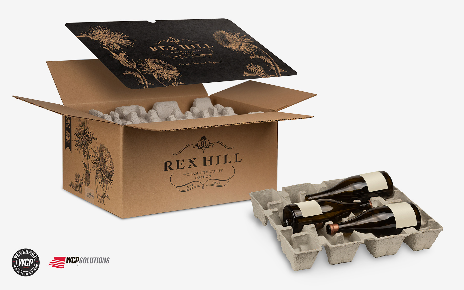 Complete Custom Branded Packaging from WCP Solutions for Wine and Beer