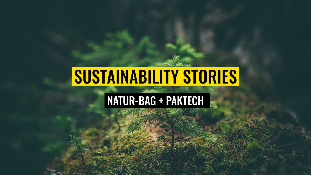 Sustainability Stories - Nature bag and Paktech