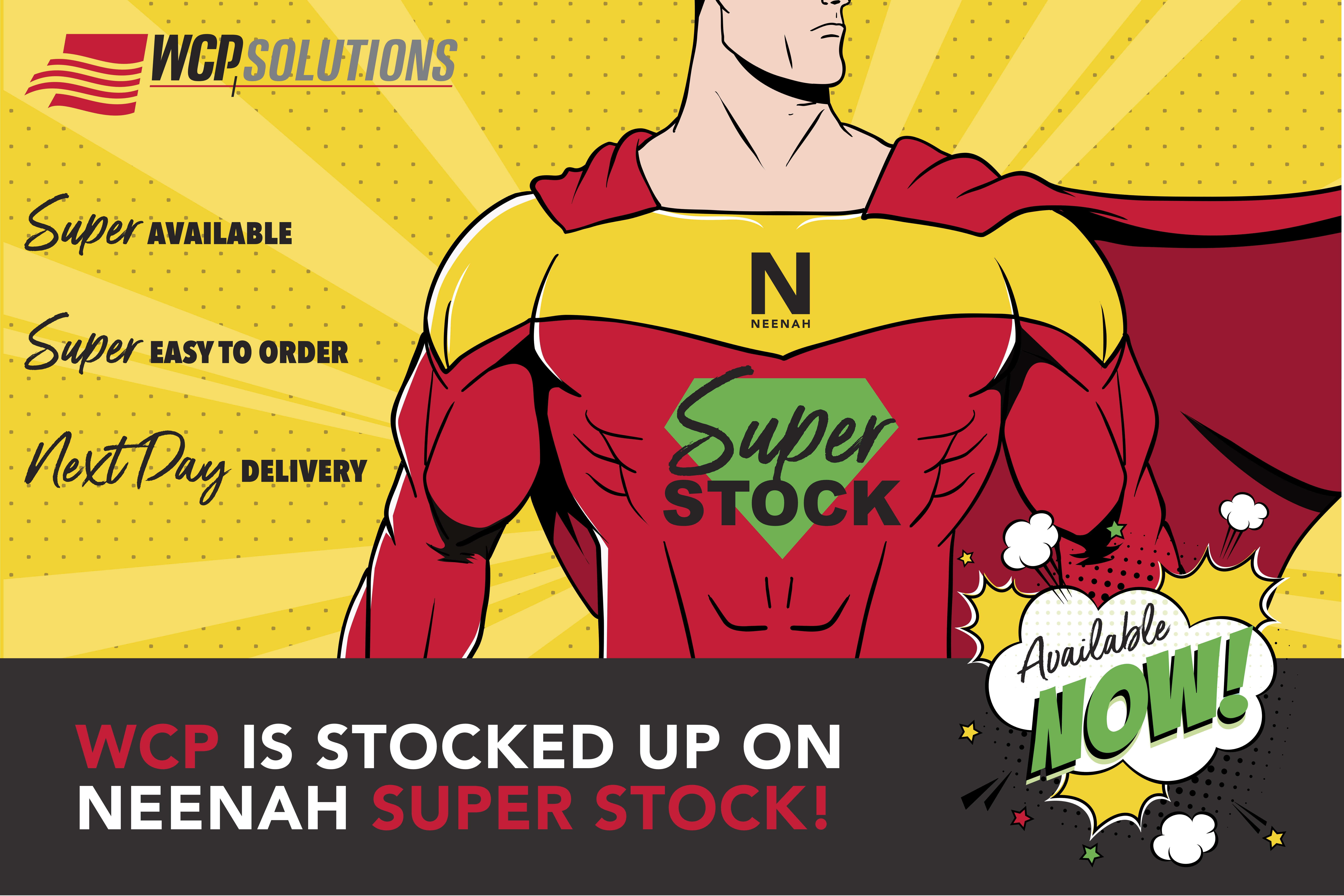 Neenah Paper Super Stock Program with WCP Solutions